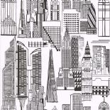 City Life Wallpaper 51164109 By Lutece For Galerie